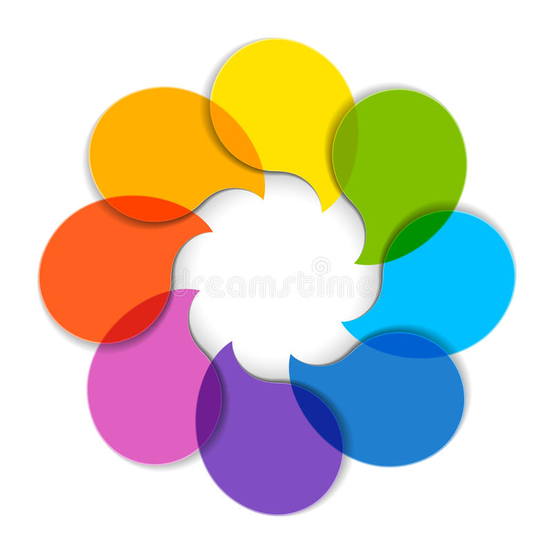 Circle Diagram Royalty Free Stock Images