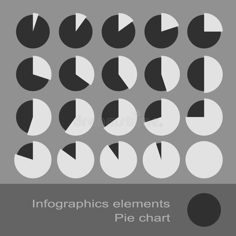 Circle Diagram Pie. Infographic Elements vector illustration