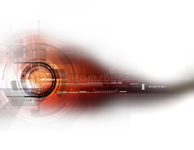 Download Circle digital background stock illustration. Illustration of wave - 33219867