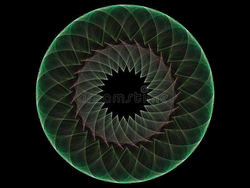 Circle Fractal vector illustration