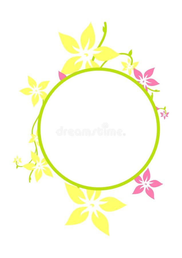 Circle Frame royalty free illustration
