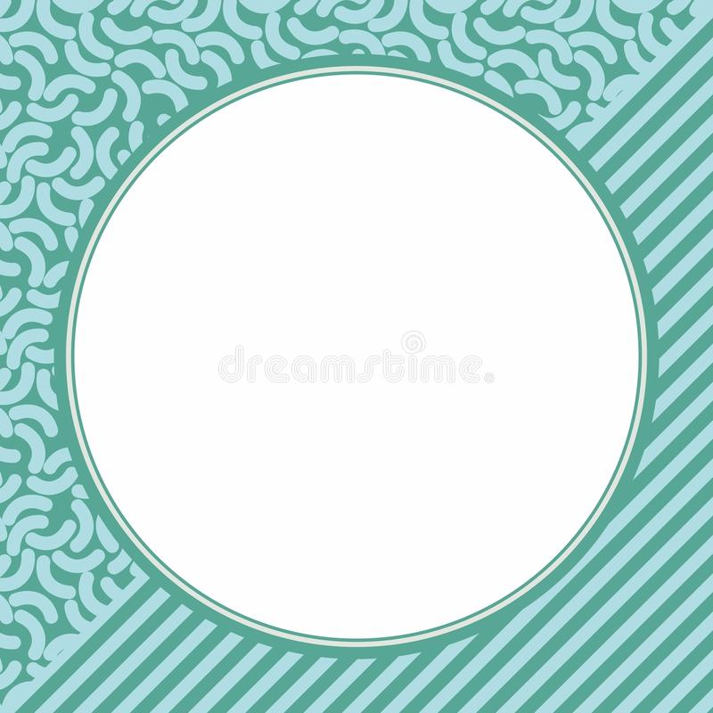 Circle Frame vector illustration