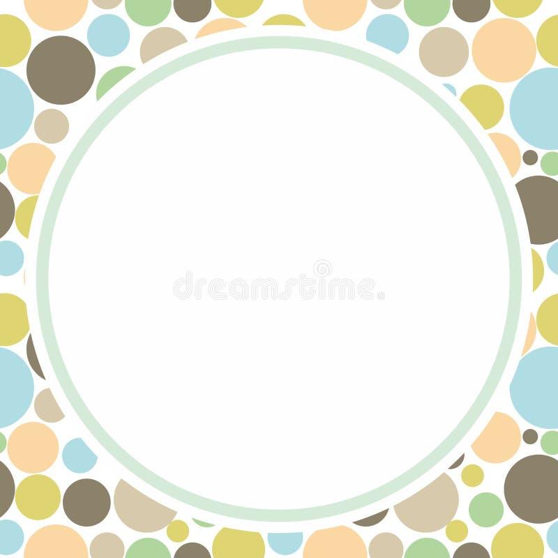 Circle Frame vector illustration