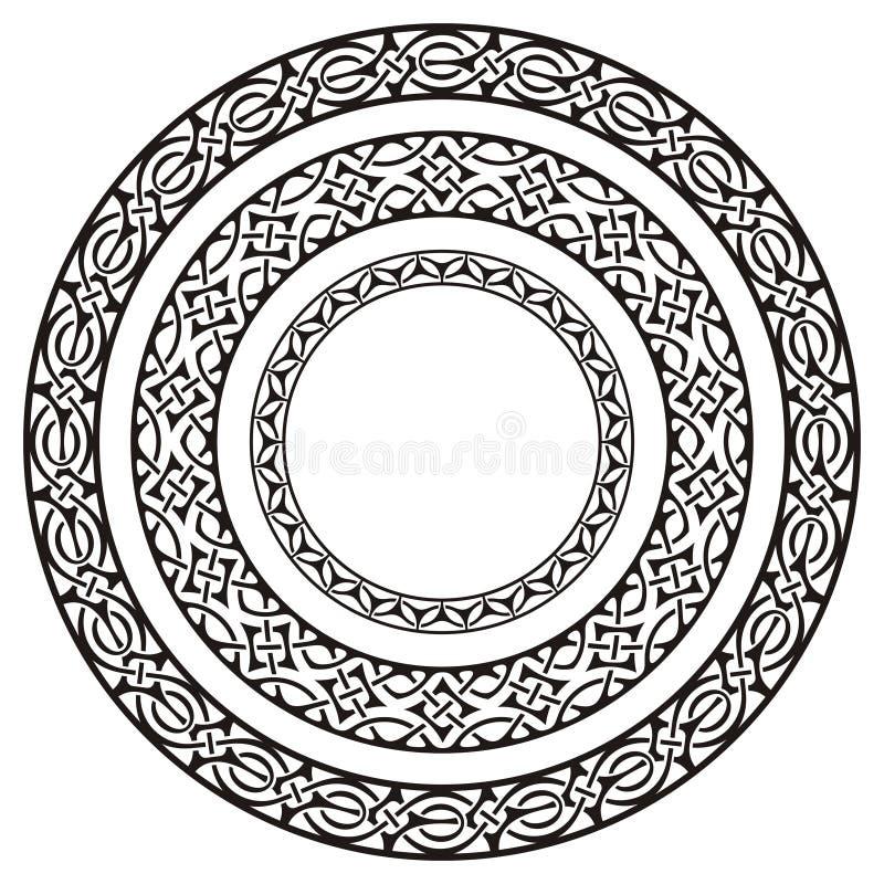 Download Circle frames stock vector. Image of black, circle, element - 11876931