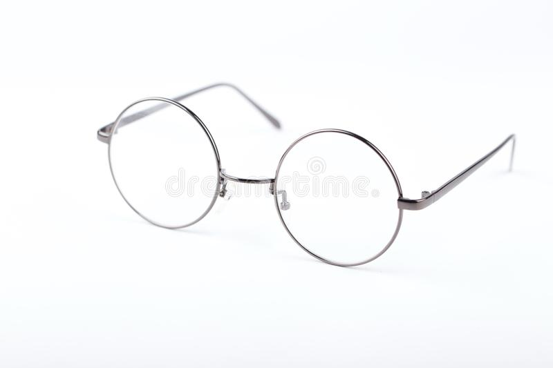 Circle glasses stock images