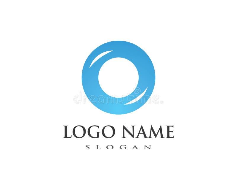 circle logo template vector illustration