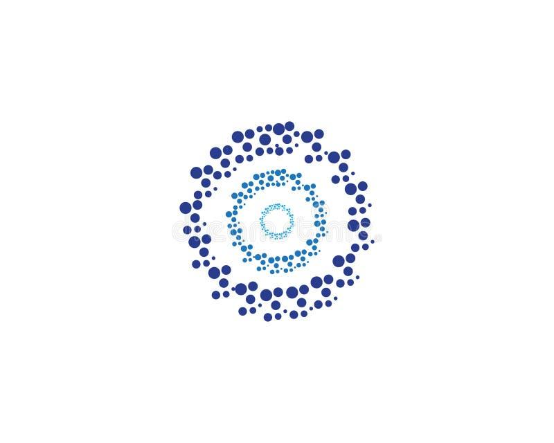 Circle logo vector templates stock illustration