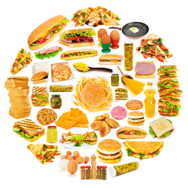 Download Circle with lots of  items stock photo. Image of group - 22339976