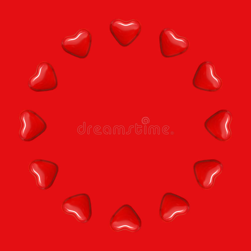 Circle Of Love Royalty Free Stock Photos