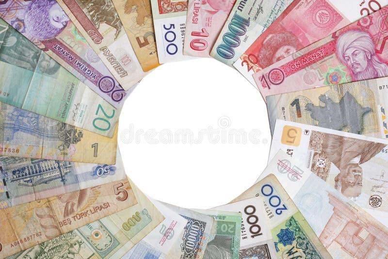 circle money στοκ εικόνα