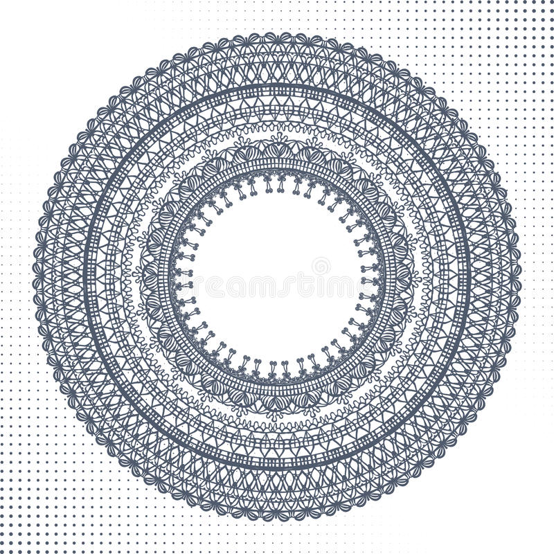 Download Circle Ornament, Ornamental Round Lace Stock Photo - Image of ornament, ornate: 33846030