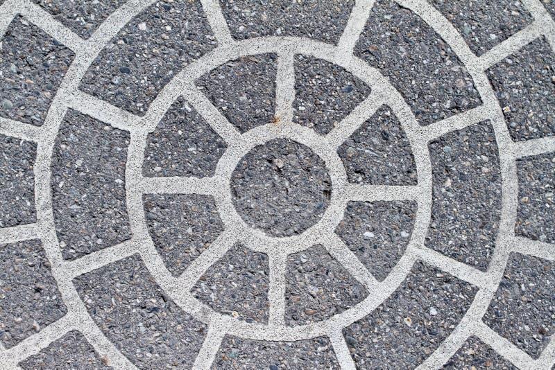 Circle pattern stock image