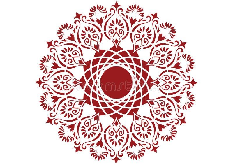 Circle pattern royalty free illustration