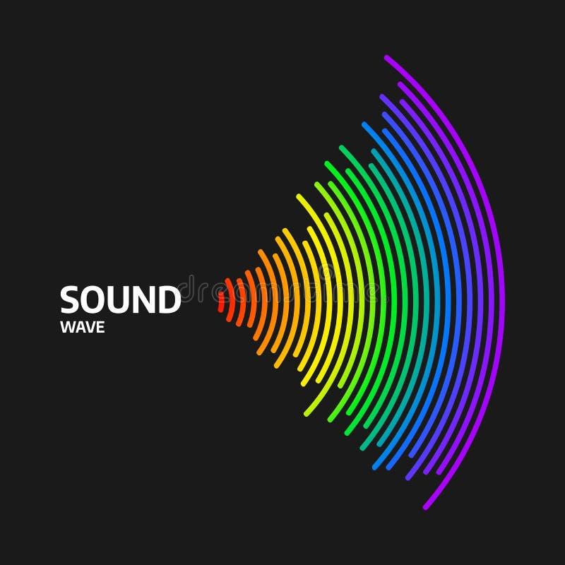 Free Circle Sound Wave Rhythm. Colorful Digital Equalizer. Royalty Free Stock Photography - 185120777