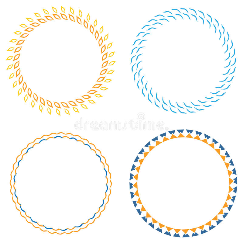 Circle Template Badge Stock Illustration Illustration Of Sale