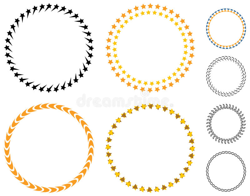 Circle Template Badge Stock Vector Illustration Of Label