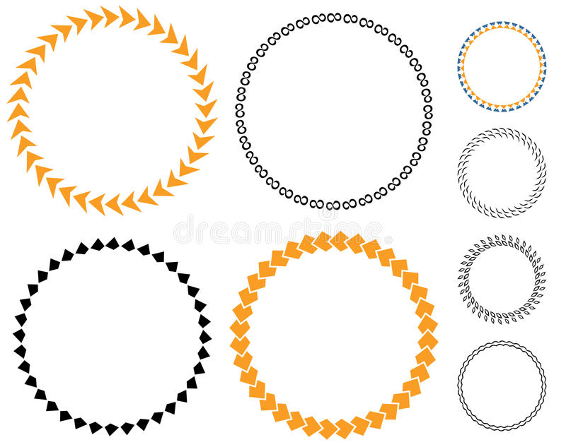 Circle Template Sticker Stock Vector Illustration Of Badge