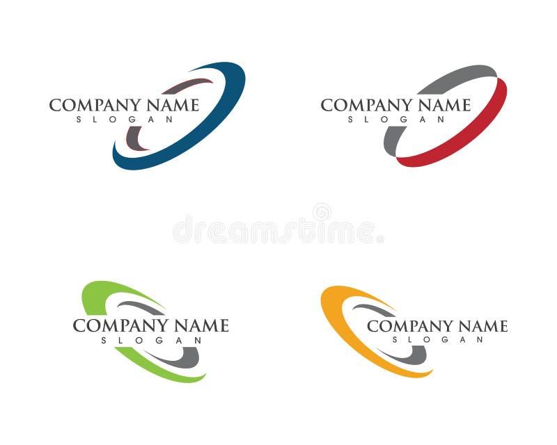 Circle vector illustration icon Logo. Template design stock illustration