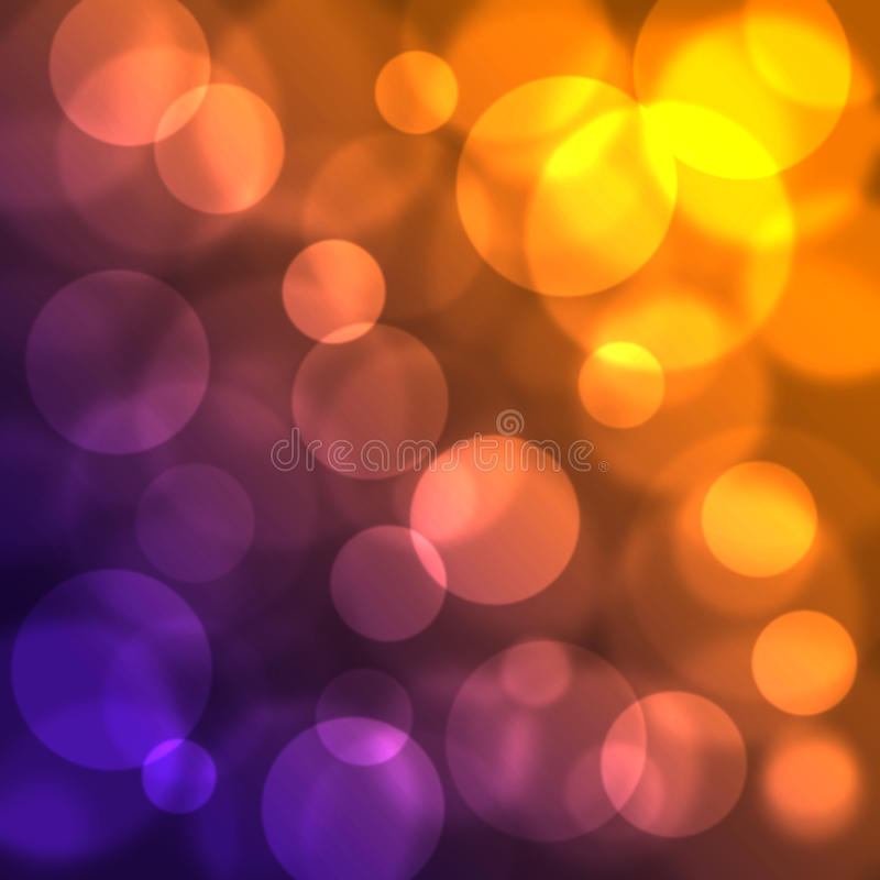 Circles. Blurred circles on colorful gradient background vector illustration