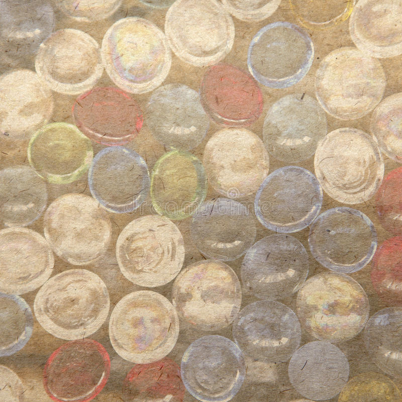 Circles. Vintage wallpaper background with circle royalty free stock images