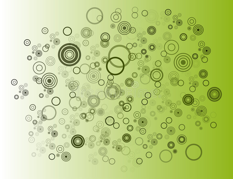 Circles. Awesome swirl-circles create an intricate background image with depth. The next new trend in marketing online and for print stock illustration