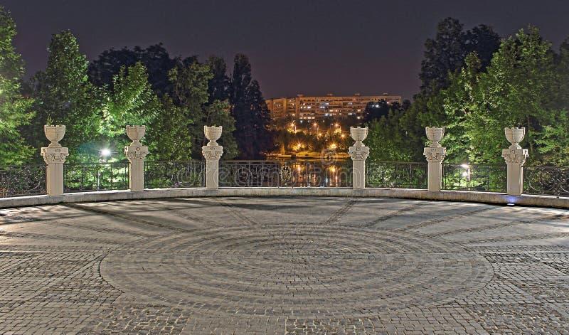 Circles. Alexandru Ioan Cuza Park - Bucharest, Romania royalty free stock photography
