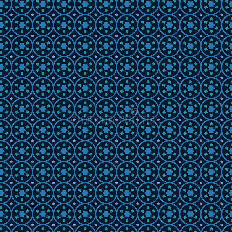 Circles background abstract vector. royalty free illustration