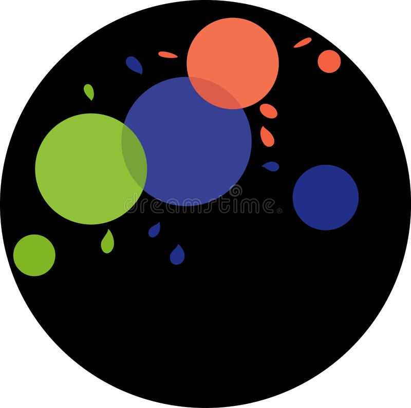 Download Circles in circle stock illustration. Illustration of abstract - 331713