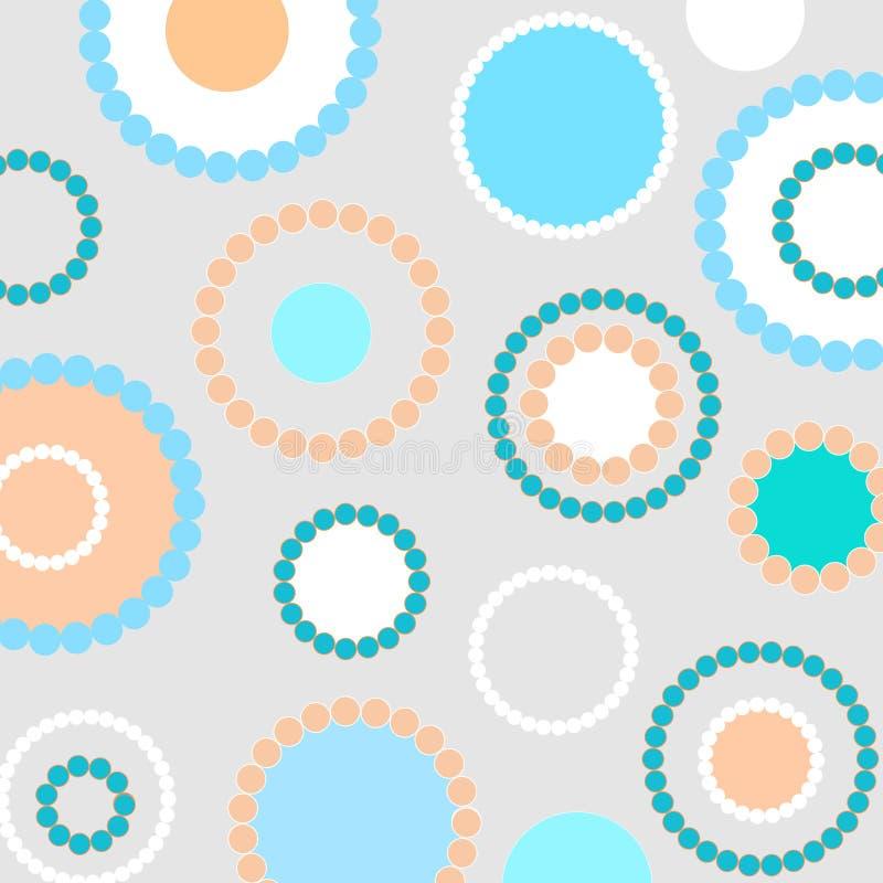 Download Circles design stock illustration. Image of trendy, pattern - 2319014