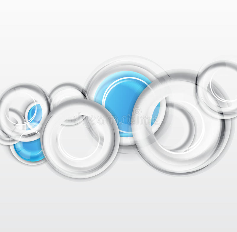 Free Circles Geometrical Background Royalty Free Stock Image - 27158136