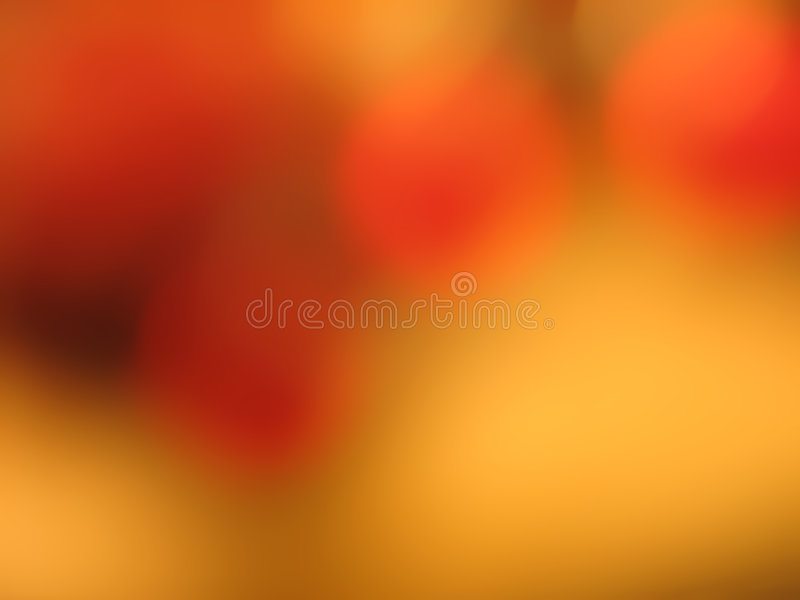 Circles of orange with gold background stock photos