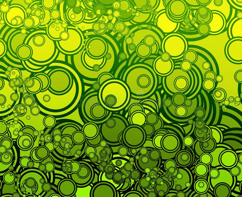 circles retro бесплатная иллюстрация