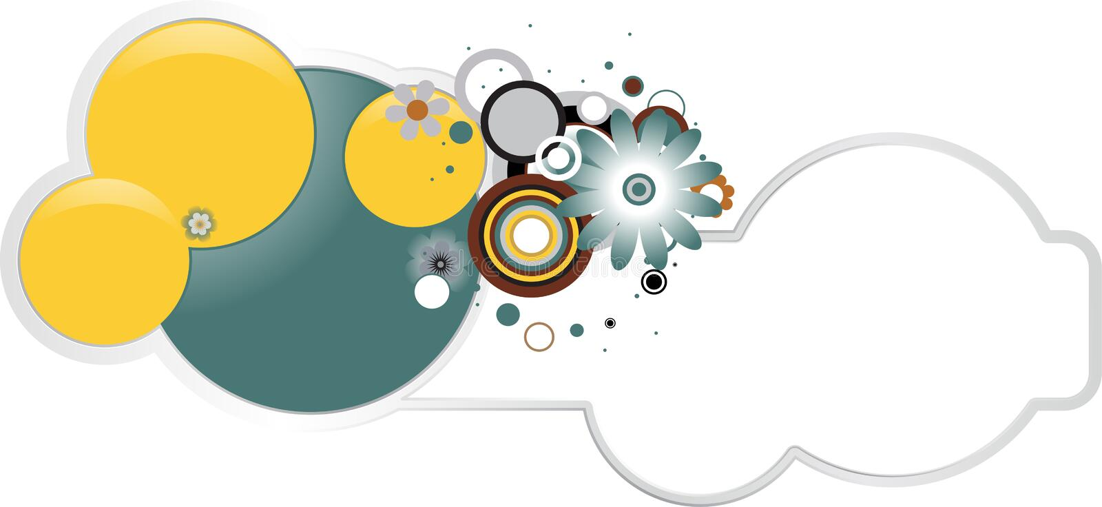 Download Circles vector banner stock vector. Illustration of background - 24555328