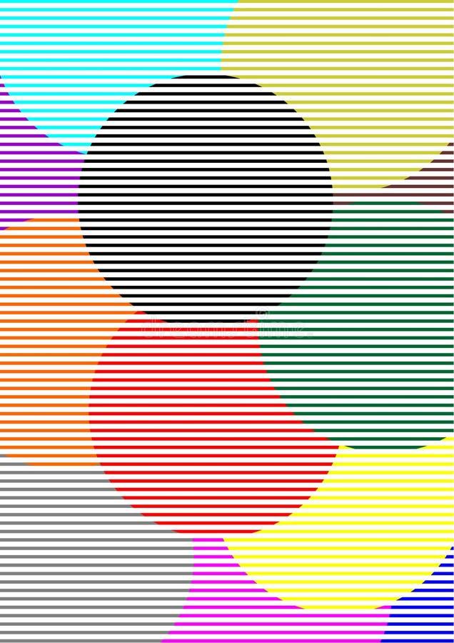Circles Wallpaper Stock Photography
