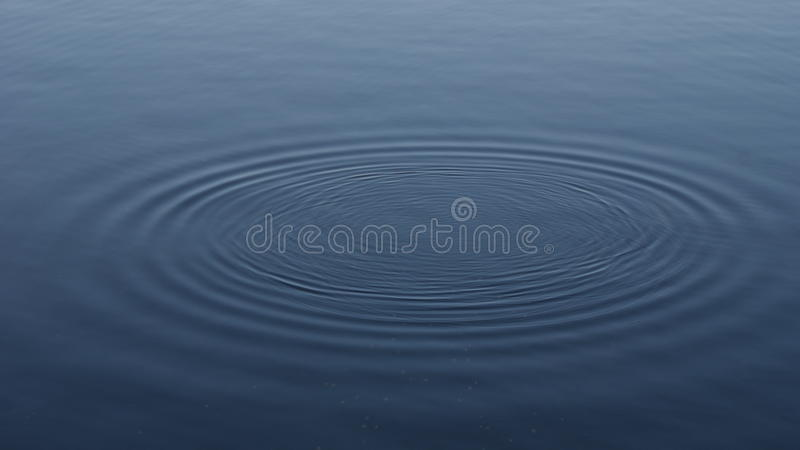 Circles on water