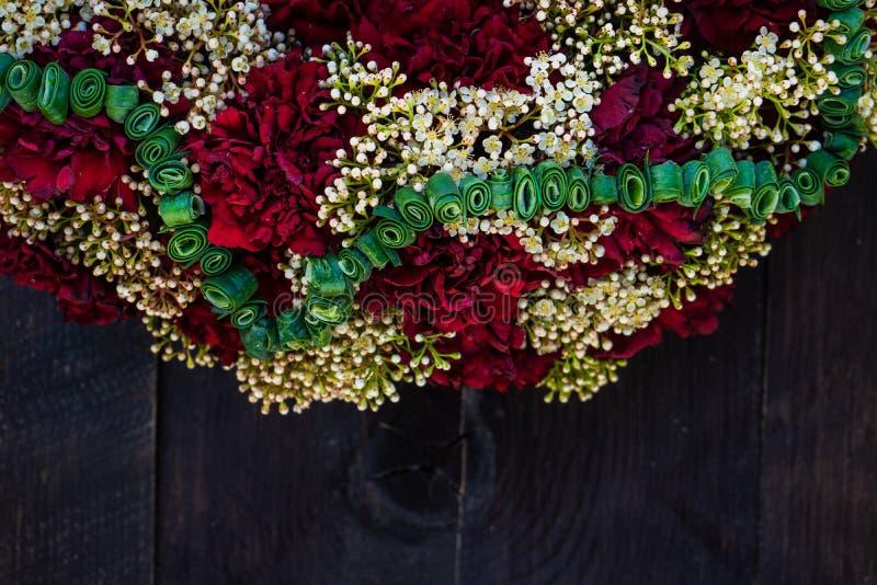 circlet цветков гвоздики стоковое изображение