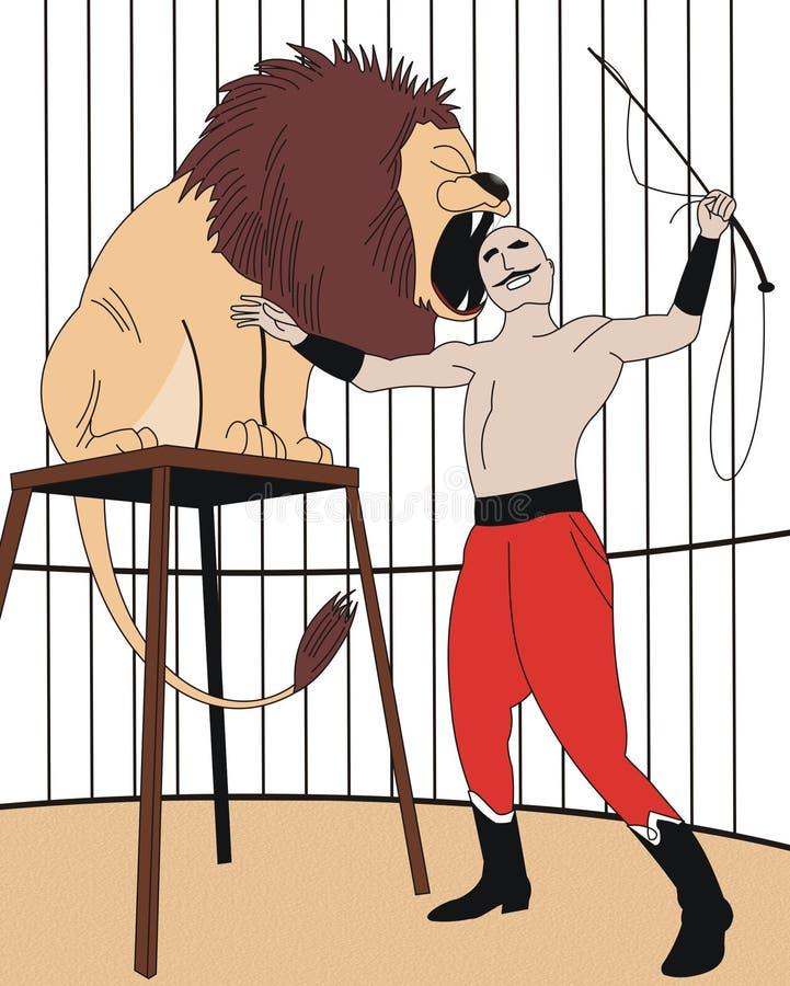 Circo ilustración del vector