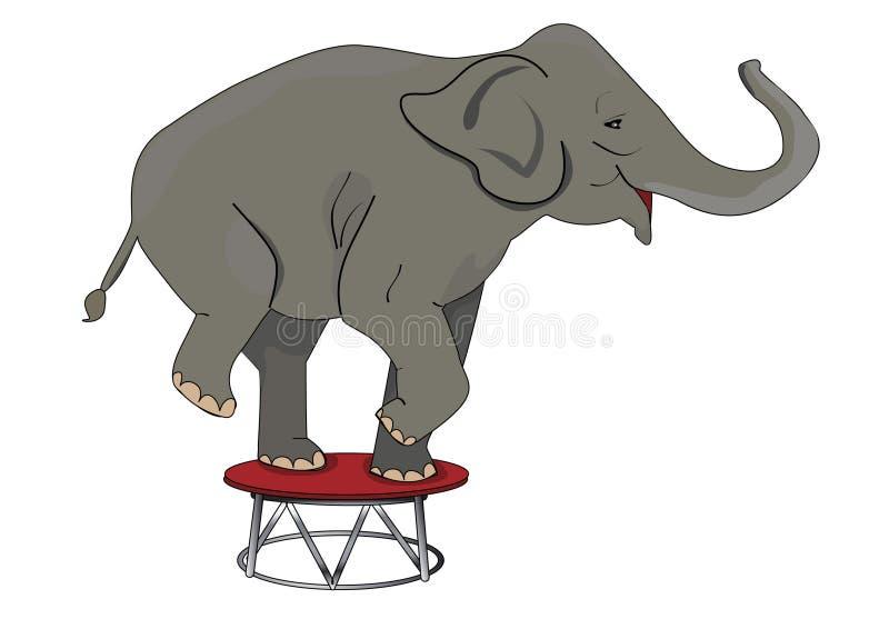 Circo ilustração stock