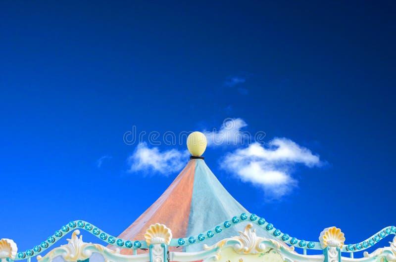 Circo, barraca do carnaval foto de stock royalty free