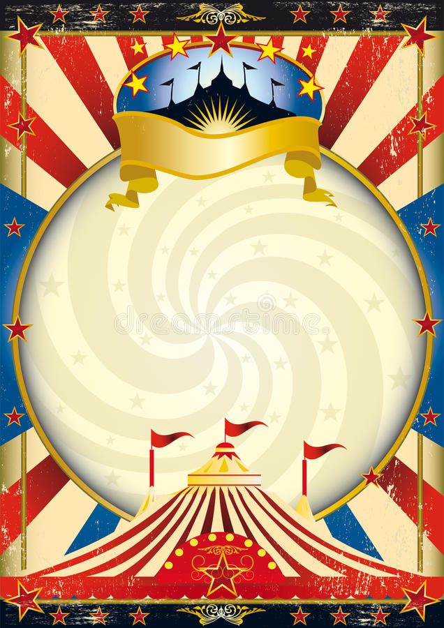 Circo de la tapa grande libre illustration