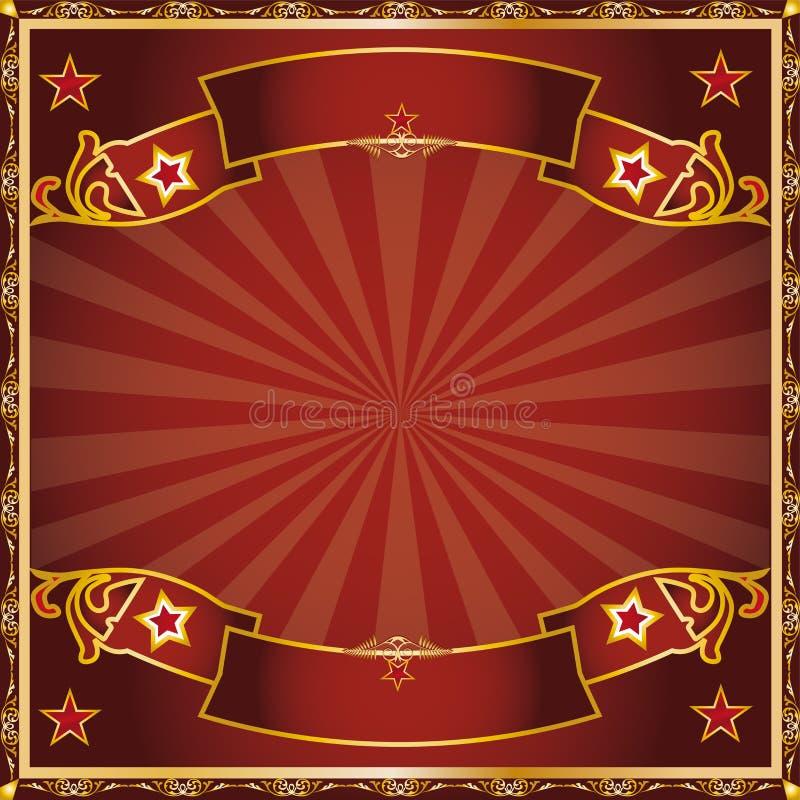 Circo di saluto royalty illustrazione gratis