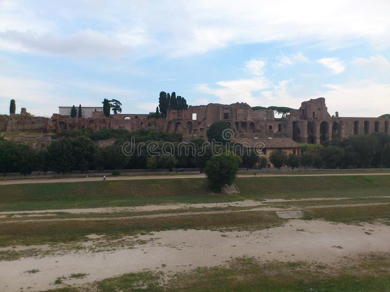 Circo Massimo μια Ρώμη στοκ φωτογραφίες