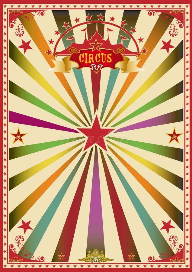 Circo multicolor libre illustration