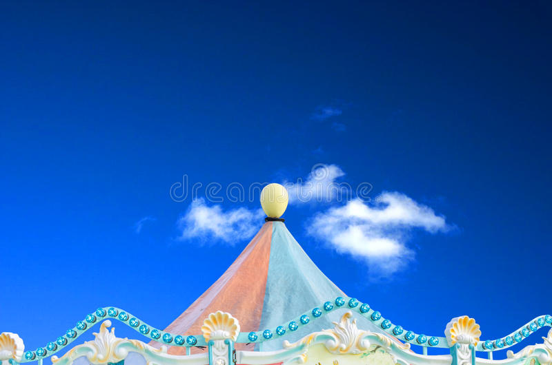 Circo, tenda di carnevale fotografia stock libera da diritti