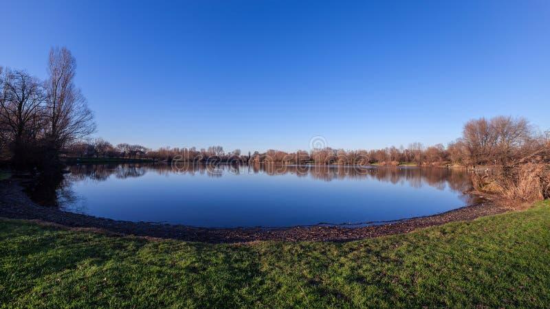 Circual lake stock images