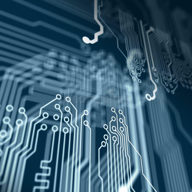 Download Circuit électronique illustration stock. Illustration du ordinateurs - 45370765