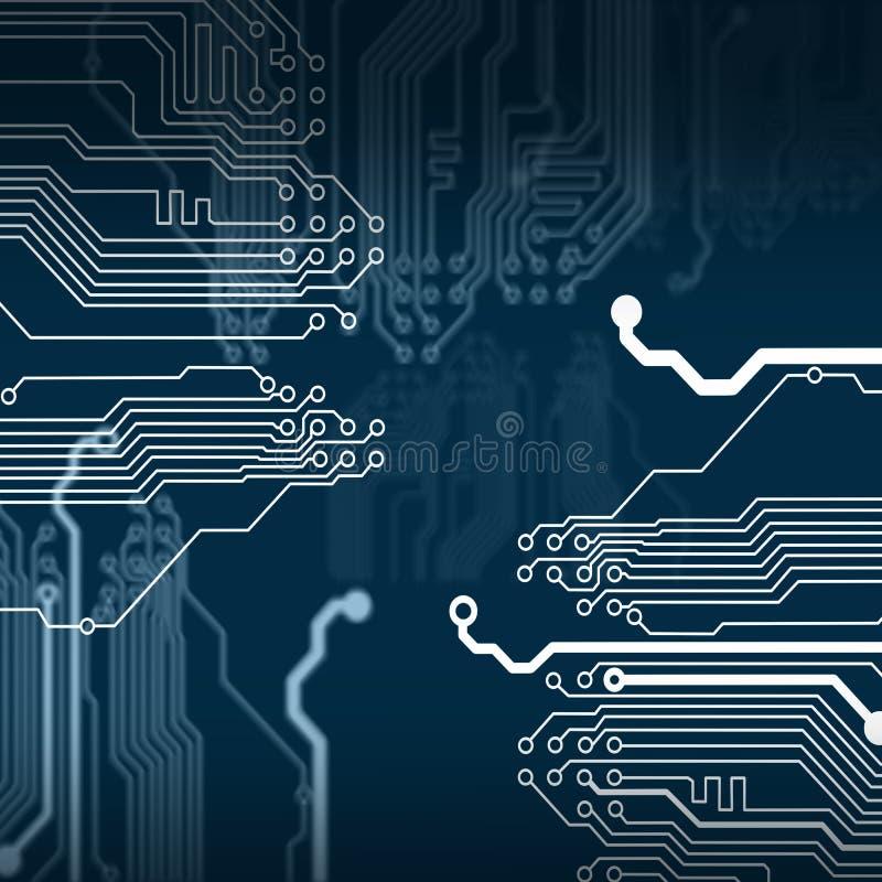 Download Circuit électronique illustration stock. Illustration du électronique - 45370766