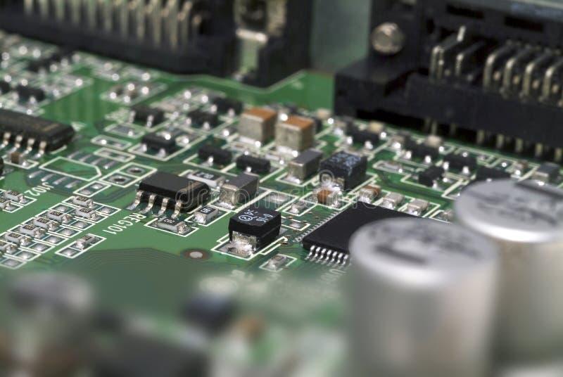 Circuit électronique photographie stock