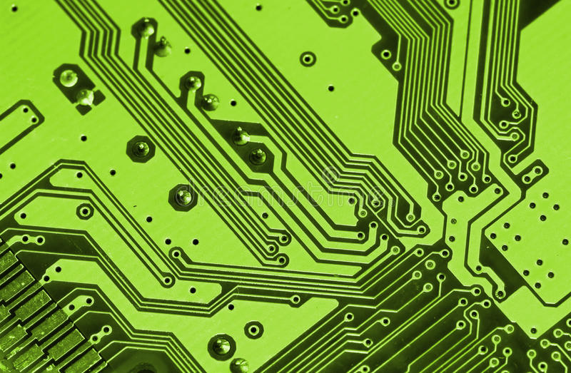 Circuit board. Background of electronic circuit board stock images