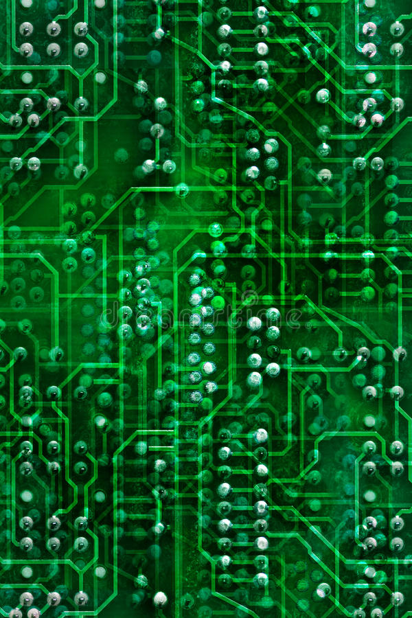 Free Circuit Board, Background Stock Image - 15247841